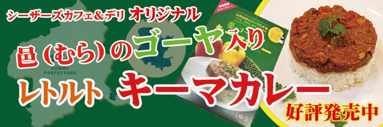 シーザーズカフェ&デリオリジナル ゴーヤ入りレトルトカレー